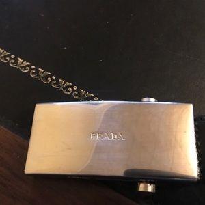 Prada genuine leather belt
